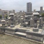 西条市、霊苑ごくらくでの建墓工事、完工です。