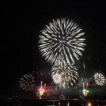 西予市宇和町、れんげまつりの前夜祭です。