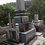 お墓のクリーニングをしました。