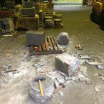 物置き石を作りました