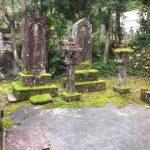 お墓のクリーニング、宇和島市内の墓所です。
