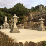 西条市小松町、建墓完工です。