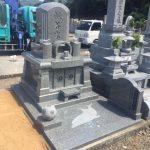 西条市、霊苑ごくらくでの建墓工事です。