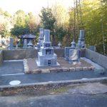 大洲市.肱川町、墓所のリフォーム工事をしました