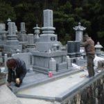 西予市宇和町、建墓工事完工しました