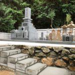 西予市で新規建墓工事をしました