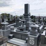 西条市で墓石建立工事をしました